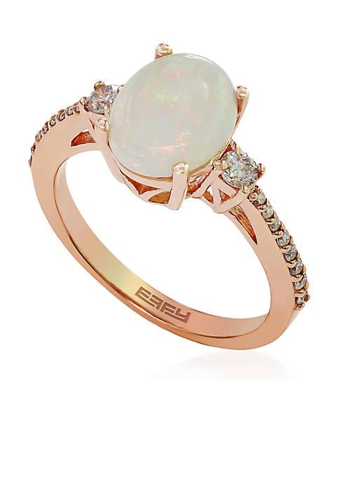 Effy® Opal Ring in 14K Rose Gold
