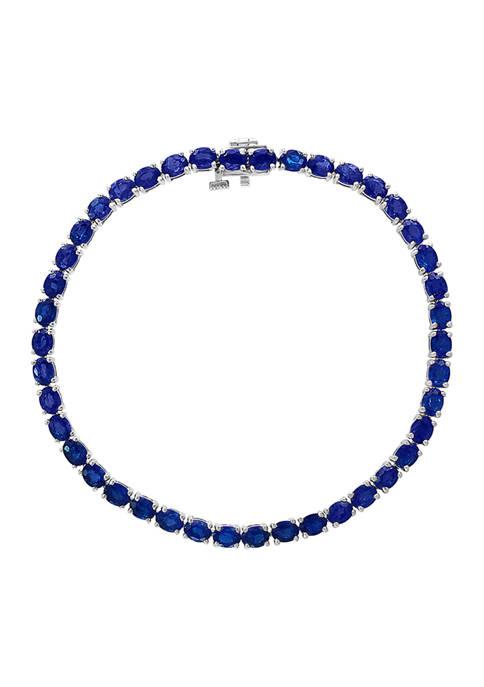 Effy® 9.98 ct. t.w. Sapphire Bracelet in 14K