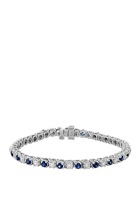 Effy® 3.06 ct. t.w. Sapphire and 2.16 ct.