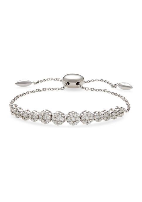 Effy® 1.04 ct. t.w. Diamond Bracelet in 14K
