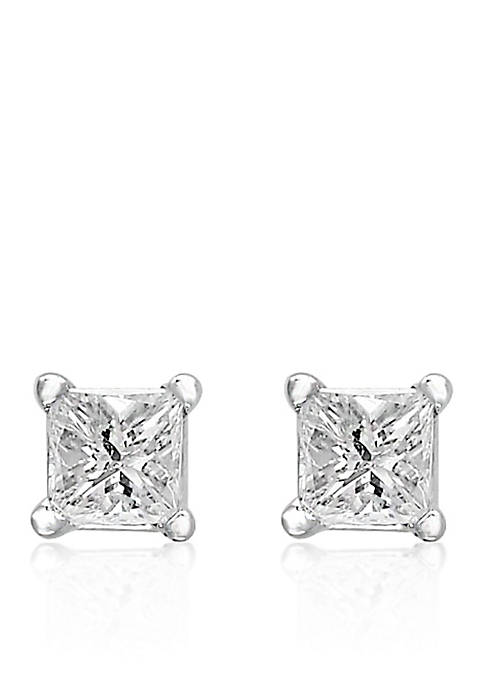 Effy® 1/6 ct. t.w. Diamond Princess Cut Studs