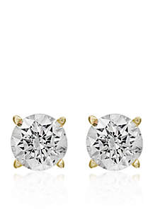1 ct. t.w. Classic Diamond Stud Earrings in 14k Yellow Gold