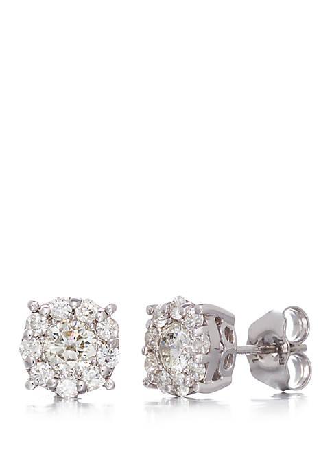 Effy® 0.95 ct. t.w. Diamond Stud Earrings in