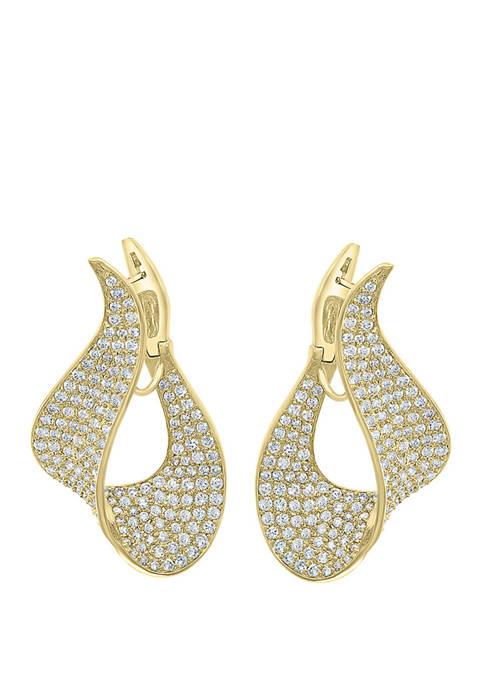 Effy® 4.83 ct. t.w. Diamond Pave Set Earrings