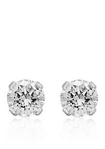 1/4 ct. t.w. Premier Diamond Stud Earrings in 14K White Gold
