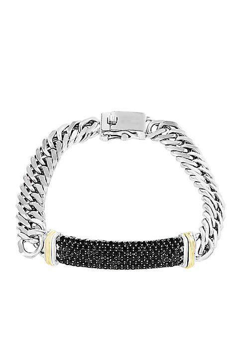 Effy® 4.20 ct. t.w. Black Sapphire Bracelet In