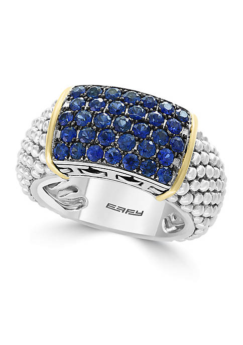 Effy® Sterling Silver Sapphire Band Ring