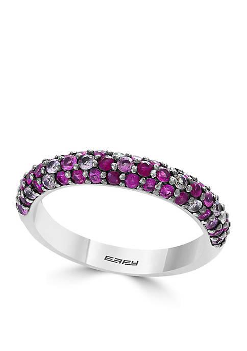 Effy® Ruby Sterling Silver Ring