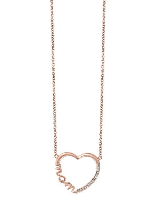 Effy® 1/10 ct. t.w. Diamond Pendant Necklace in