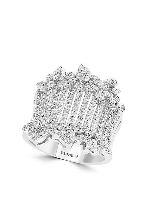 Effy® 1.05 ct. t.w. Wide Diamond Band in