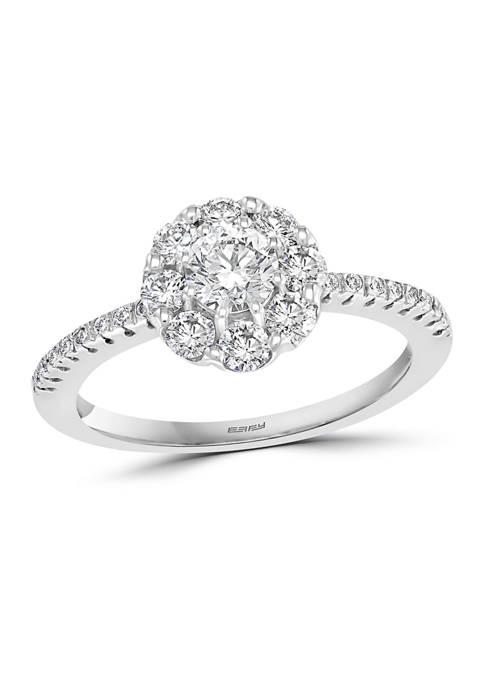 Effy® 1 ct. t.w. Diamond Ring in 14K