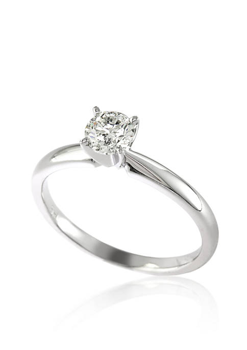 Effy® 0.5 ct. t.w. Diamond Solitaire Ring in