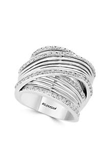 3/4 ct. t.w. Diamond Band Ring in 14k White Gold