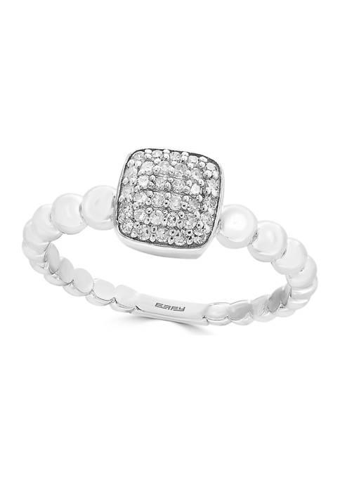 Effy® 1/6 ct. t.w. Diamond Ring in 14K