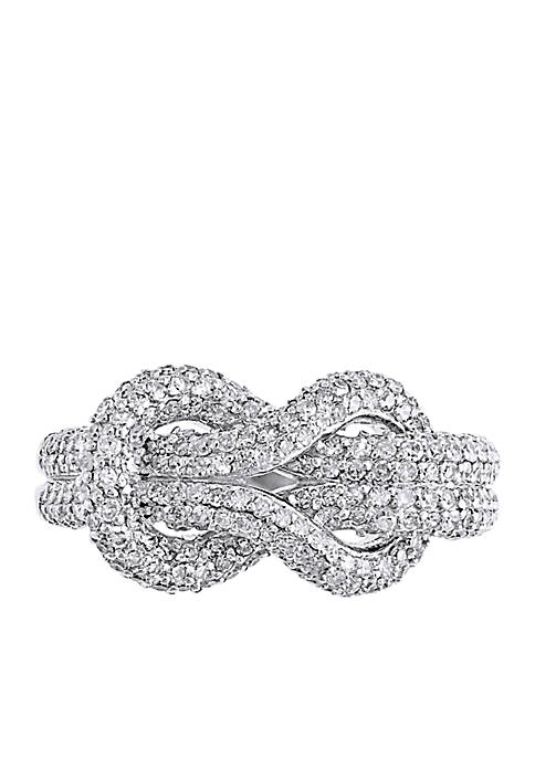Effy® 1.06 ct. t.w. Diamond Ring in 14k