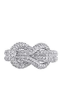 1.06 ct. t.w. Diamond Ring in 14k White Gold