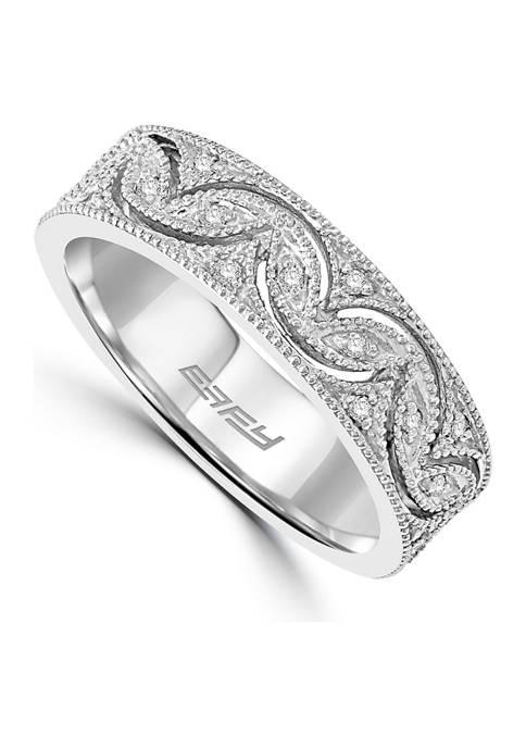 1/10 ct. t.w. Diamond Ring in 14k White Gold