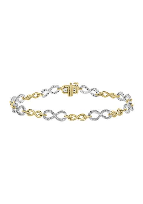 Effy® 1/2 ct. t.w. Diamond Bracelet in 14K