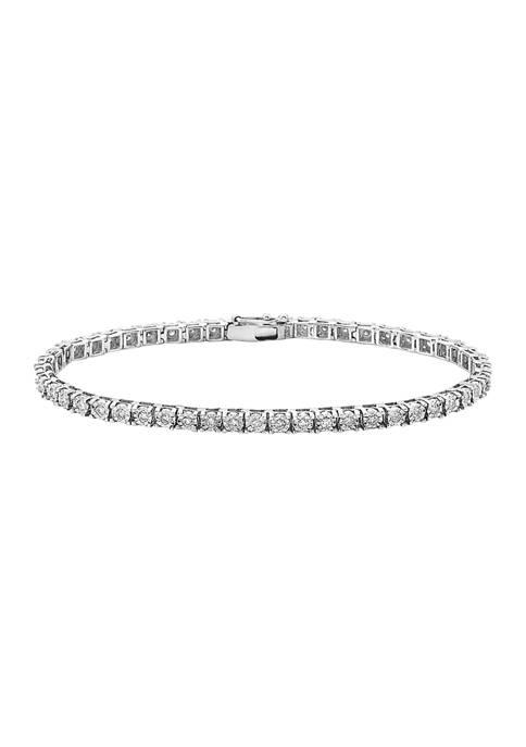 Effy® 1 ct. t.w. Diamond Bracelet in 14K