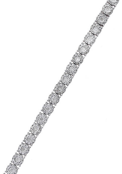 Effy® 1.92 ct. t.w. Diamond Tennis Bracelet in
