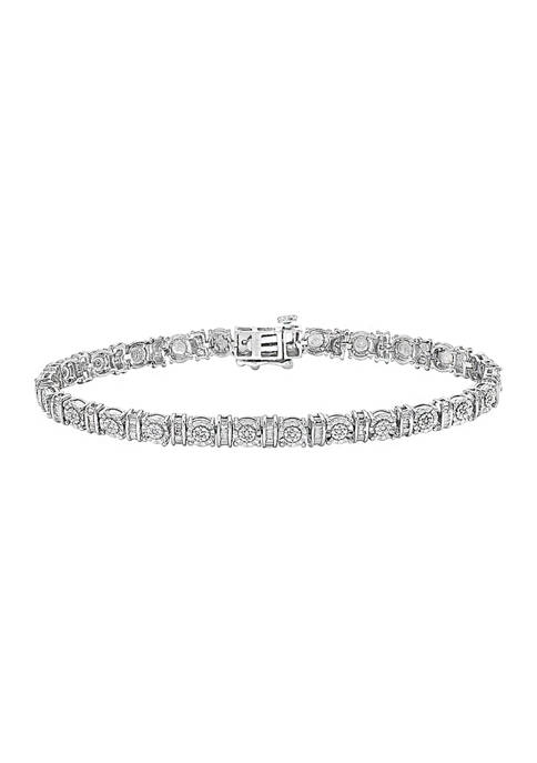 Effy® 1/5 ct. t.w. Diamond Bracelet in Sterling