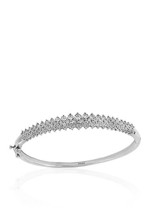 Effy® 0.50 ct. t.w. Diamond Bangle Bracelet in
