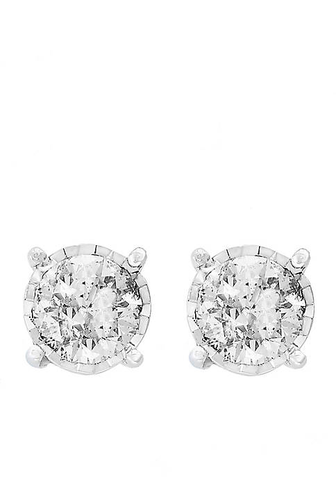 Effy® 1.0 ct. t.w. Diamond Studs in 14K