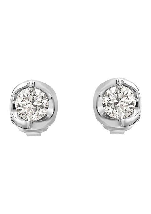 Effy® 1/2 ct. t.w. Diamond Earrings in 14K