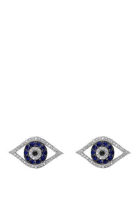Effy® 1/3 ct. t.w. Diamond, Black Diamond, 1/4