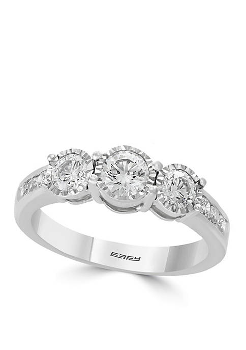 Effy® 1.0 ct. t.w. Diamond Miracle Plate Ring
