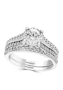 1.22 ct. t.w. Diamond Ring 2-Piece in 14k White Gold