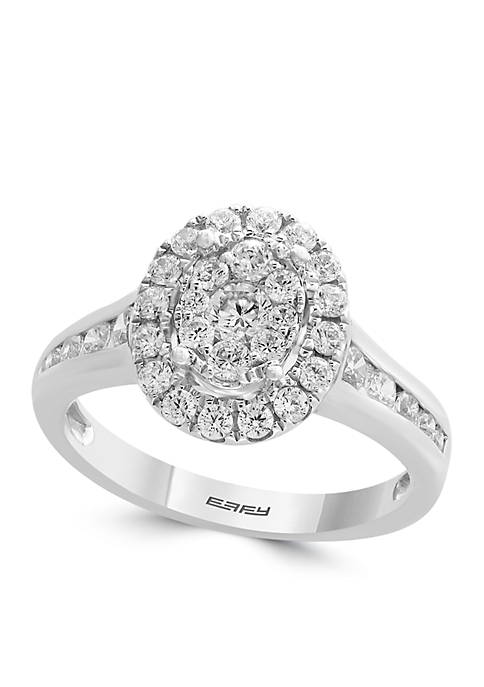 Effy® 1.00 ct. t.w. Diamond Cluster Ring in