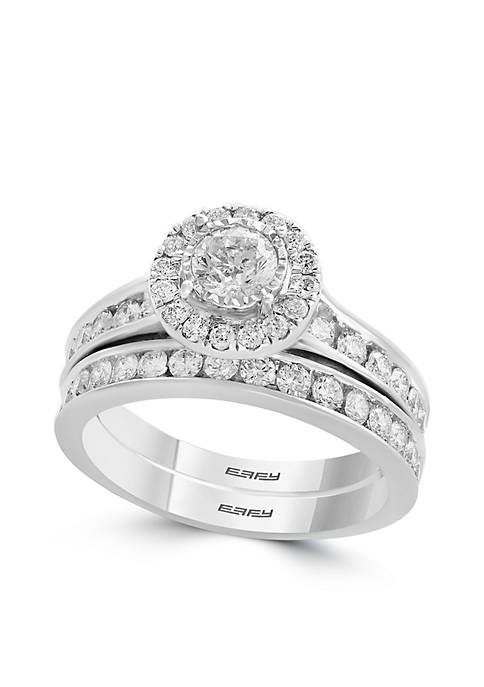 Effy® 1.47 ct. t.w. Diamond 2-Piece Ring Set