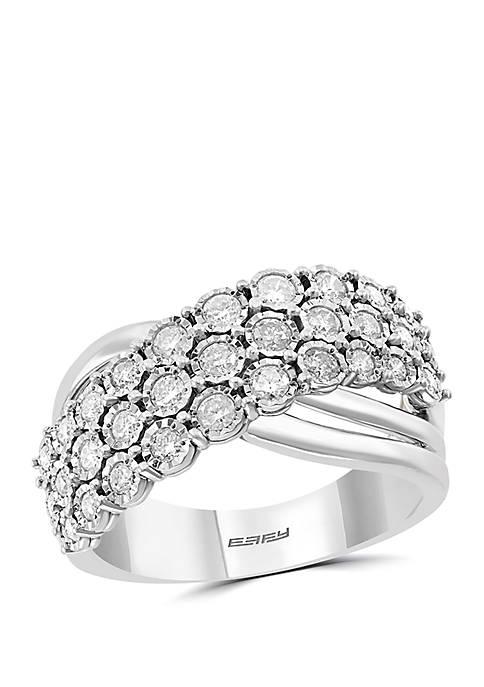 Effy® Miracle Set 3/4 ct. t.w. Diamond Ring