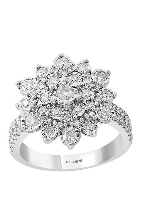Effy® 1.19 ct. t.w. 925 Sterling Silver Diamond