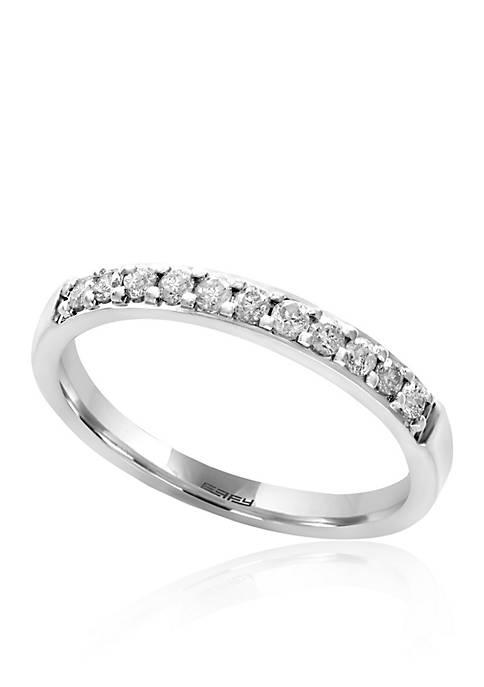 Effy® 0.25 ct. t.w. Diamond Ring in 14k