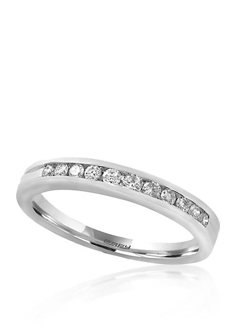 Effy® .25 ct. t.w. Diamond Ring in 14K