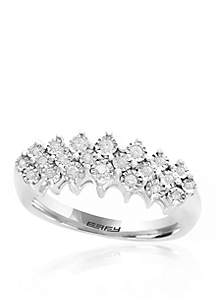 0.20-ct. t.w. Diamond Band Ring in Sterling Silver