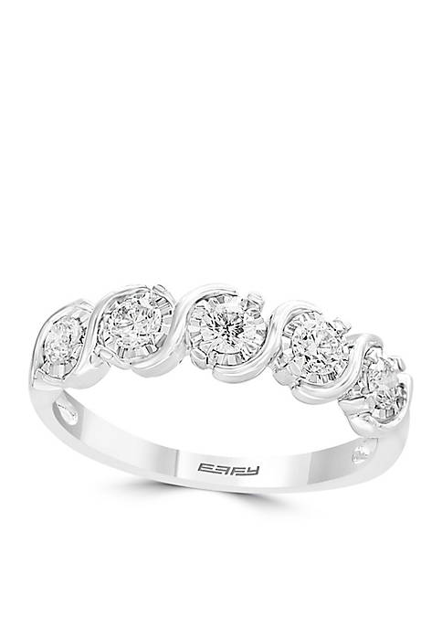Effy® 1/2 ct. t.w. Diamond Miracle Band in