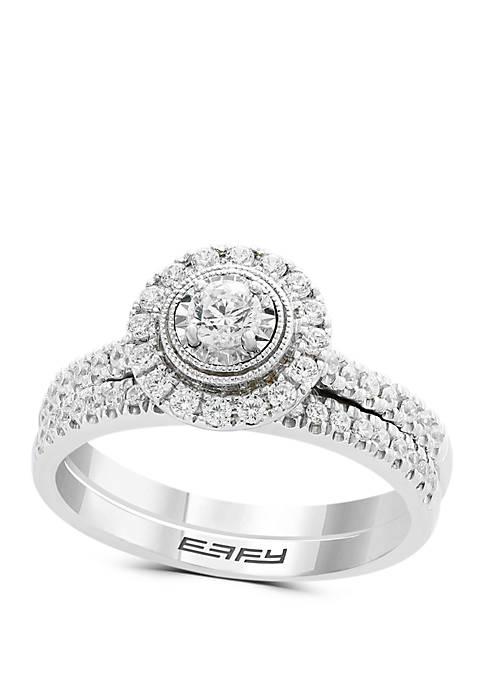 Effy® 1/2 ct. t.w. Diamond Bridal 2-Piece Miracle