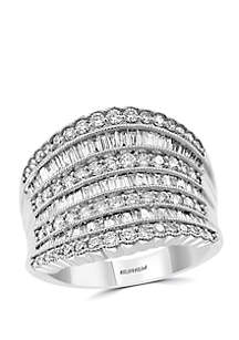 Effy® 1.45 ct. t.w. Diamond Ring in 14k White Gold