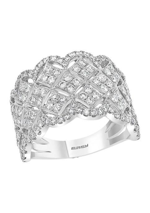 Effy® 1.58 ct. t.w. Diamond Ring in 14K