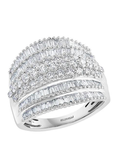 Effy® 1.43 ct. t.w. Diamond Ring in 14K