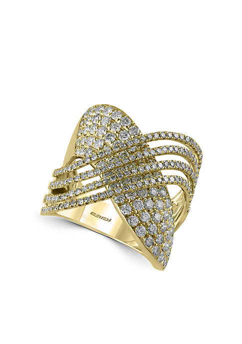 Effy® 2.13 ct. t.w. Diamond Statement Ring in