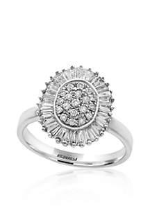 0.96 ct. t.w. Diamond Ring in 14K White Gold