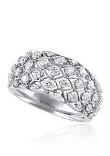 1.01 ct. t.w. Diamond Ring in 14K White Gold