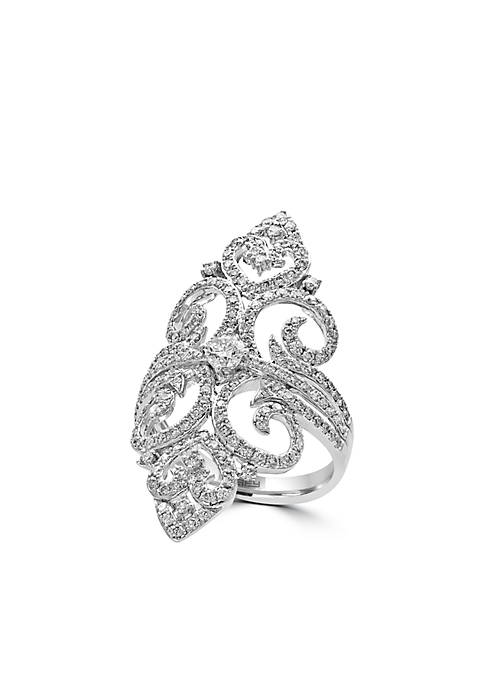Effy® 1.27 ct. t.w. Diamond Ring in 14k