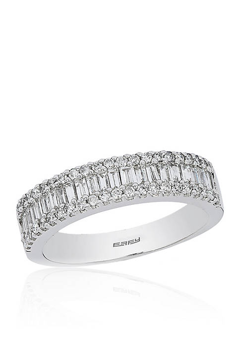 Effy® 0.85 ct. t.w. Baguette Diamond Ring in