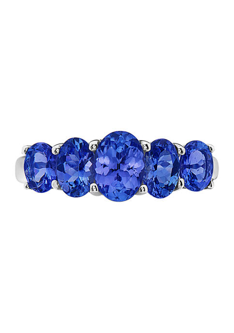 Effy® 2.15 ct. t.w. Tanzanite Ring in Sterling