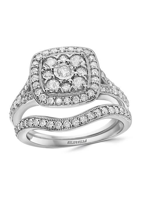Effy® 1 ct. t.w. Diamond Ring Set in